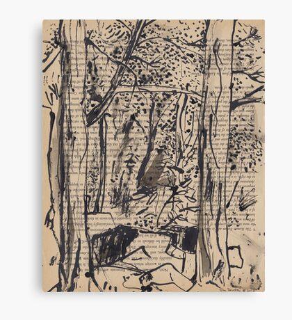 Tree Tunnel, McKell Park Canvas Print