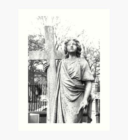Memorial Statue Art Print
