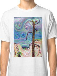 Tree In The Desert Classic T-Shirt