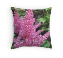 Pink Cone Throw Pillow