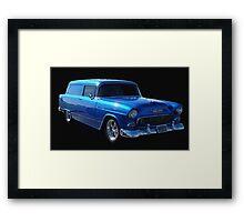 1955 Chevy Sedan Delivery Framed Print