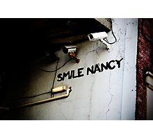 Smile Nancy Photographic Print