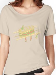 The subway train Women's Relaxed Fit T-Shirt