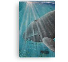 Whale - Day 5 - 'Creation' Mural Canvas Print