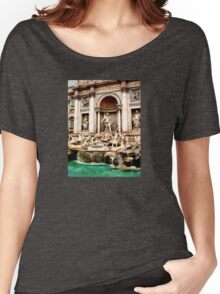 Trevi Fountain Women's Relaxed Fit T-Shirt