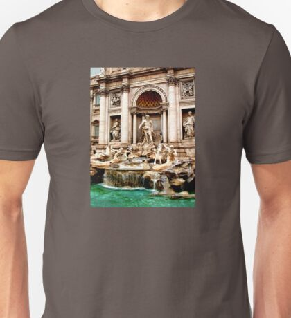 Trevi Fountain Unisex T-Shirt