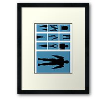 Anatomy of a Good Cop Framed Print