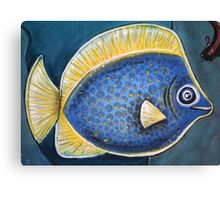 Blue Fish - Day 5 - 'Creation' Mural Canvas Print