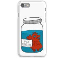 """my heart belongs to you"" iPhone Case/Skin"