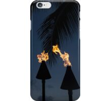 Of Tiki Torches, Palm Trees and Beach Parties iPhone Case/Skin