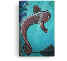 Red Fish - Day 5 - 'Creation' Mural Canvas Print
