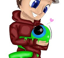 JackSepticEye and Sam by MelchiorFlyer