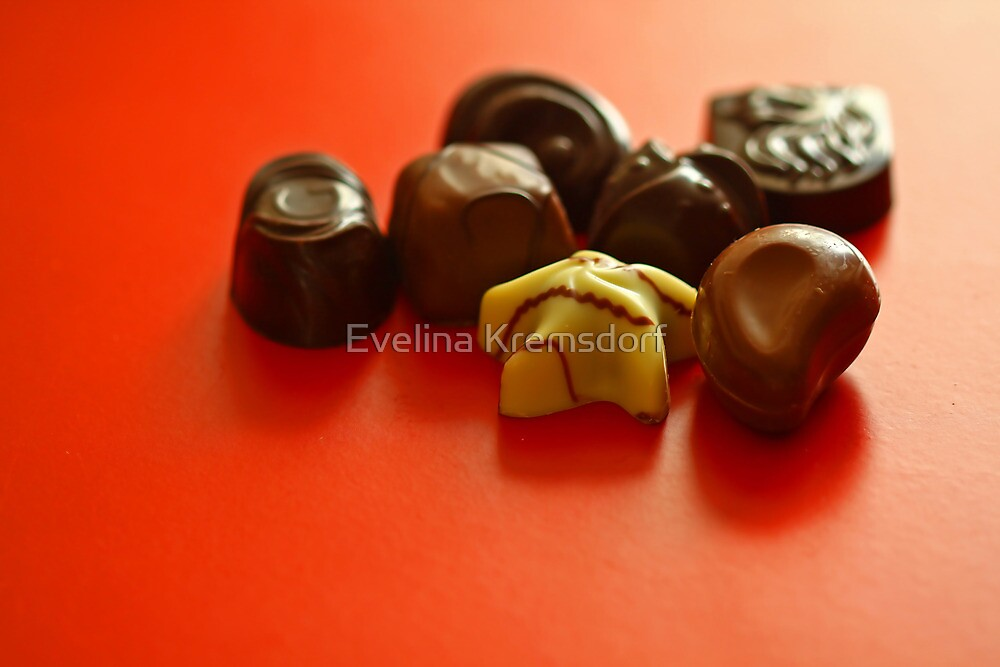 Chocolate Delight by Evelina Kremsdorf