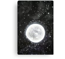 The moon - Day 4 - 'Creation' Mural Canvas Print