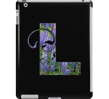 L is for lupin iPad Case/Skin