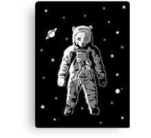 Cat Astronaut Spaceman Canvas Print