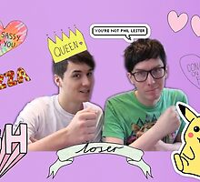Ugh Dan and Phil by ashleyIsAwesome