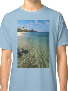 Waikiki Beach Sea and Sunshine Classic T-Shirt