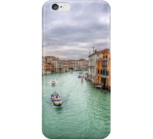 Non Peak Hour in Venice_HDR iPhone Case/Skin