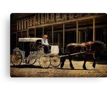 Original Cadillac Limosine! Canvas Print