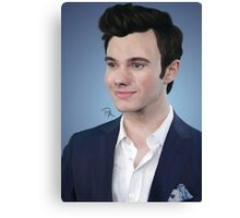 Chris Colfer Canvas Print