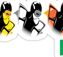 United colors of Kombat Sticker