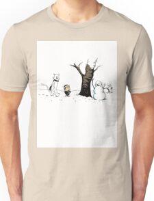 Jon and Ghost Unisex T-Shirt