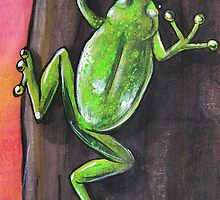 Frog - Day 7 - 'Creation' Mural by Selinah Bull
