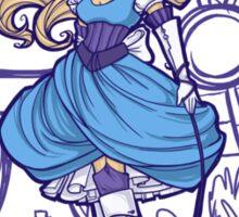 Steampunk Alice - Revised Sticker