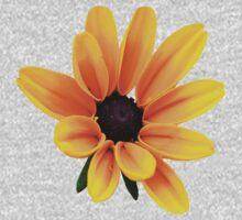 Yellow Daisy Flower Baby Tee