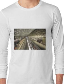 Smithsonian Metro Station Long Sleeve T-Shirt