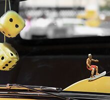 Car Dice And The Surfer by CarolM