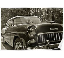 55 Chevy Poster