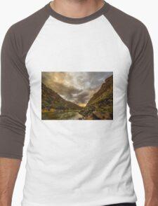 Taos Sunset Men's Baseball ¾ T-Shirt