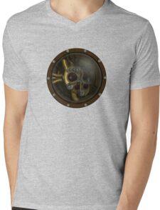 Steampunk Mechanical Heart Mens V-Neck T-Shirt