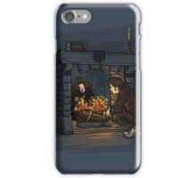 The Witch in the Fireplace iPhone Case/Skin