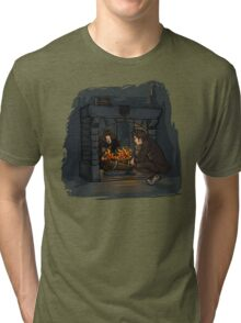 The Witch in the Fireplace Tri-blend T-Shirt