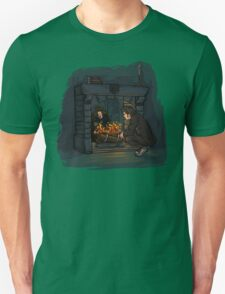 The Witch in the Fireplace Unisex T-Shirt