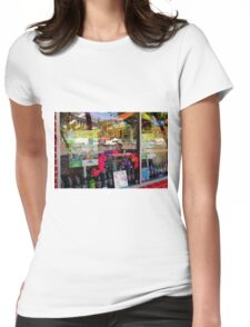 Produce Mart With Dollar Store Prices? Womens Fitted T-Shirt