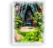 Gnome Away From Home Canvas Print