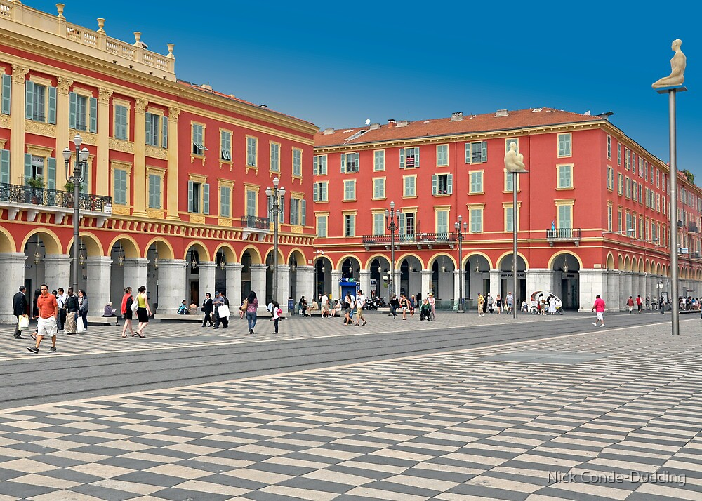 Massena Square by Nick Conde-Dudding