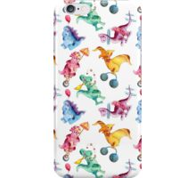 Dinosaur Circus iPhone Case/Skin
