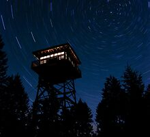 Mission Lookout Starscape by alpinetrekker