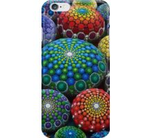 Jewel Drop Mandala Stone Collection #1 iPhone Case/Skin