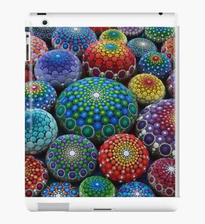 Jewel Drop Mandala Stone Collection #1 iPad Case/Skin