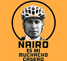 Nairo es mi muchacho casero / Nairo is My Homeboy (Spanish) : TDF Yellow by finnllow