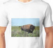 Bison Bull in Maxwell Wildlife Refuge Unisex T-Shirt