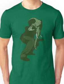 Just Some Green Guy With An Elephant Head Unisex T-Shirt