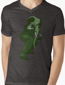 Just Some Green Guy With An Elephant Head Mens V-Neck T-Shirt