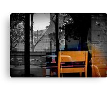 ...That Mirror In The Window Canvas Print